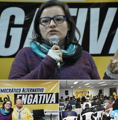 Hoy en #Engativa junto a una de las mejores ediles de #Bogotá, Lilia Avella.  Seguimos construyendo liderazgos de mujeres para la participación política 💪👭✊