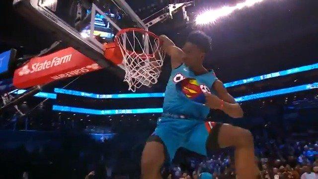 💥💥Every dunk from the 2019 #ATTSlamDunk contest! #NBAAllStar #StateFarmSaturday