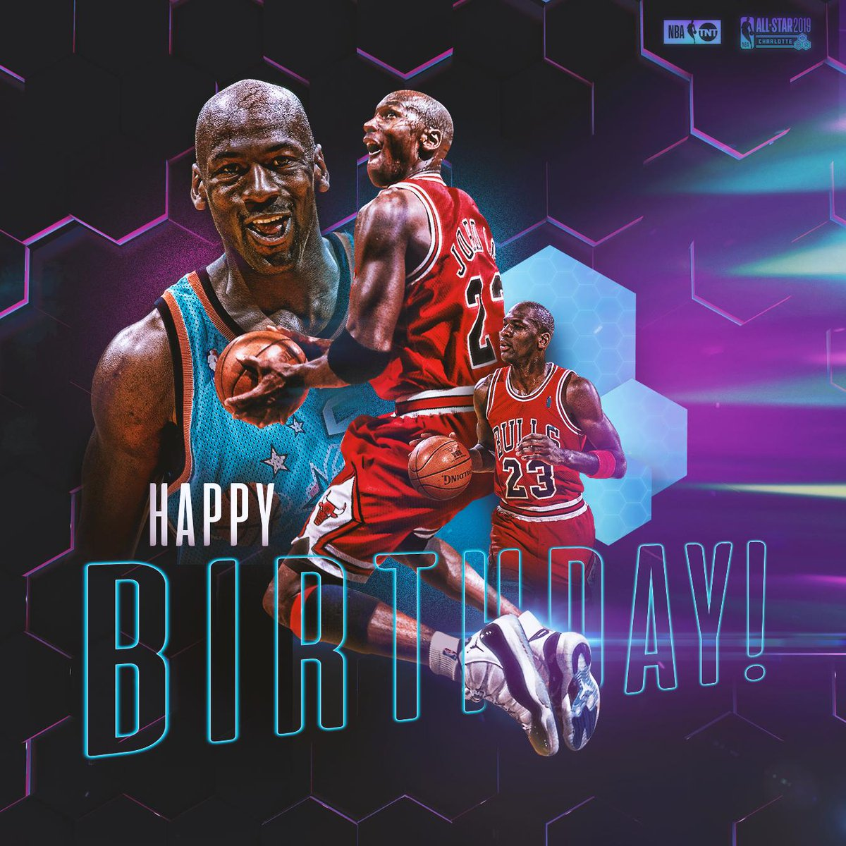 Happy Birthday to a legend. 🏆  Michael Jordan turns 56 today!