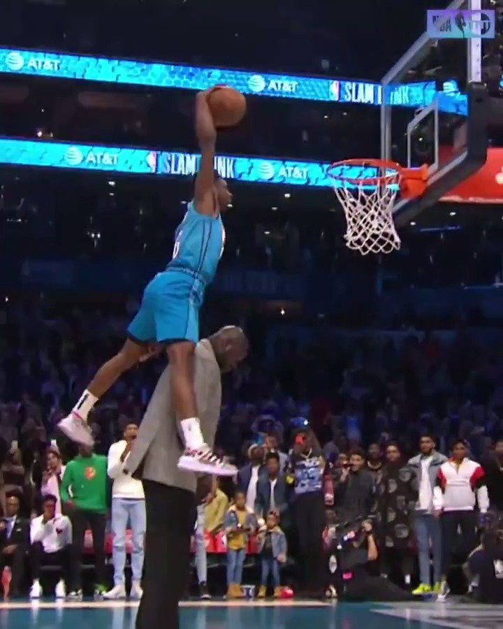 Relive the best of the 2019 #ATTSlamDunk contest in slo-mo ... 🎥👀