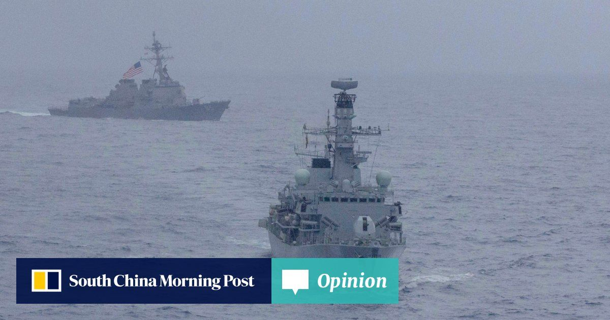 Opinion: On course for a moment of truth in South China Sea as US ups the ante https://t.co/FqFCB27wbB