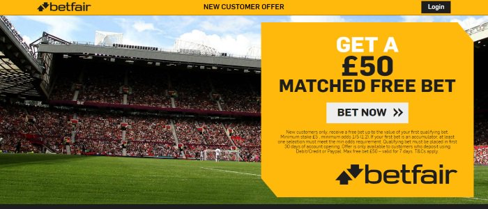 #football #PremierLeague #ChampionsLeague #MUFC #MCFC #LFC #EFL #QPR New custom receive a free bet up to the value of your first qualifying bet.Minimum £5, min odds 1/5 (1.2) Debit/Credit or Paypal. Max free bet £50 valid for 7 days. T&Cs apply Claim➡️http://bit.ly/match50bf
