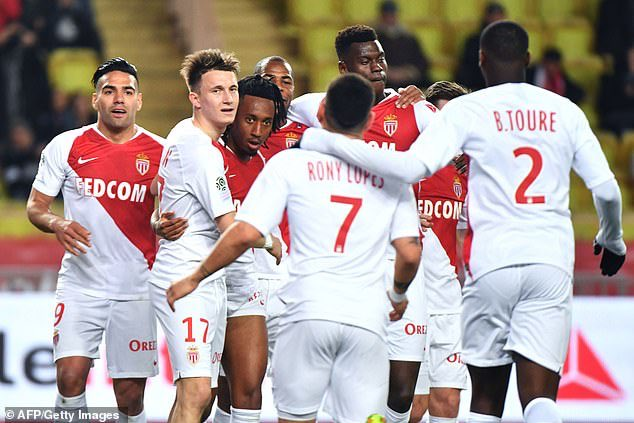 Monaco 1-0 Nantes: Gelson Martins scores his second goal in three games as Leonardo Jardim&#39;s side leapfrog out of the relegation zone for the first time since September <br>http://pic.twitter.com/lTSoO5YnJk