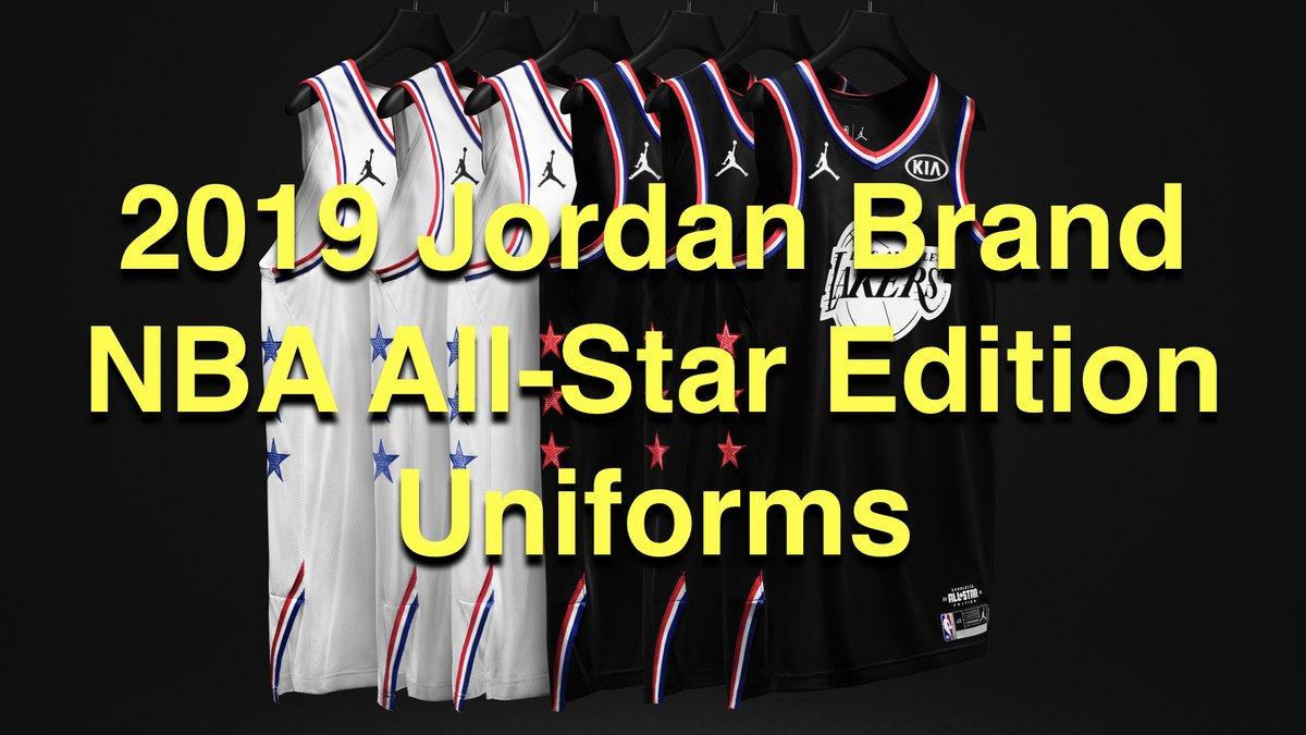 My thoughts on the 2019 Jordan brand NBA All-Star edition uniforms #NBA #NBAAllStar #NBAAllStarMediaDay #NBAAllStarGame #NBAAllStarWeekend #Jumpman #TeamLeBron #TeamGiannis #KembaWalker #LeBronJames #Giannis #StephenCurry #RussellWestbrook #JamesHarden https://youtu.be/BBw8Quf0hHU