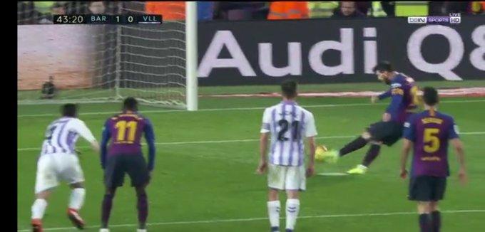 Video 📹: Barcelona 1 – 0 Real Valladolid Spanish La Liga Highlights https://9jaback2back2.blogspot.com/2019/02/video-barcelona-1-0-real-valladolid.html… #ForcaBarca