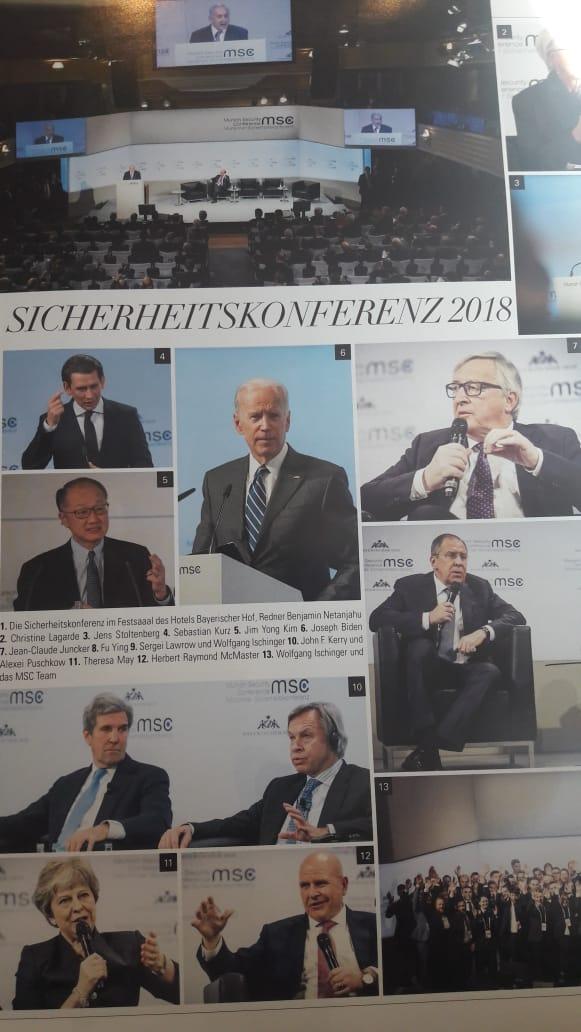 На Мюнхенской конференции по безопасности, где в течение двух дней шел замер температуры мировой политики и намерений западного альянса, прежде всего, на российском направлении.