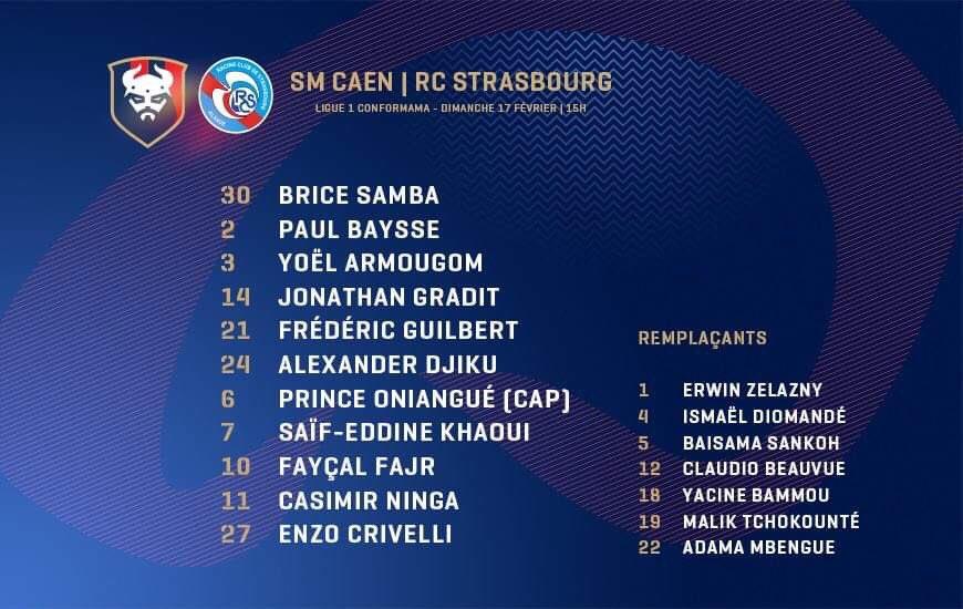[25e journée de L1] SM Caen 0-0 RC Strasbourg Dzm-mlXWkAA7h5q