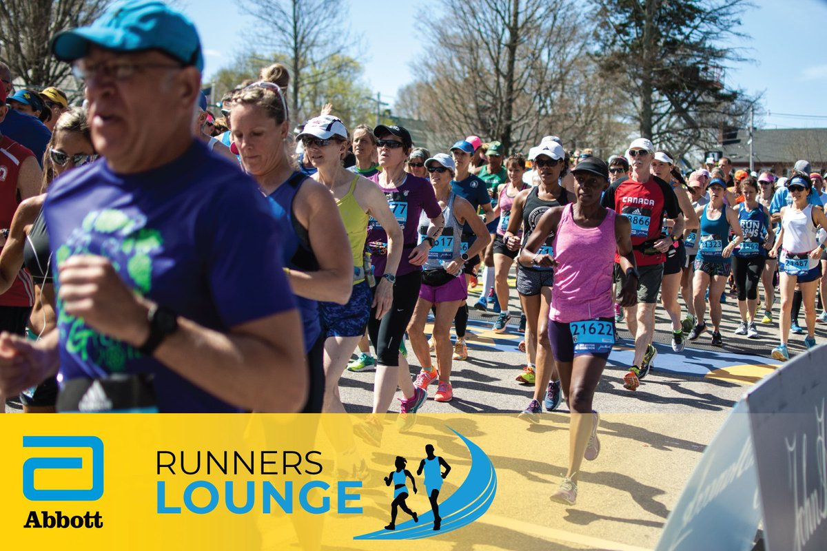 There's nothing quite like your Boston debut! In today's @AbbottGlobal Runners Lounge, we're talking about the first time you ran from Hopkinton to Boston. What do you remember most? Or, what are you most excited for?  #Boston2019