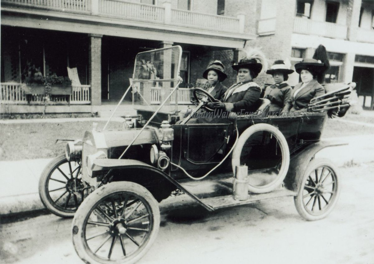 Meet Madam C.J. Walker, the first self-made African-American woman millionaire https://t.co/YEwMAd4a90 by @SibileTV