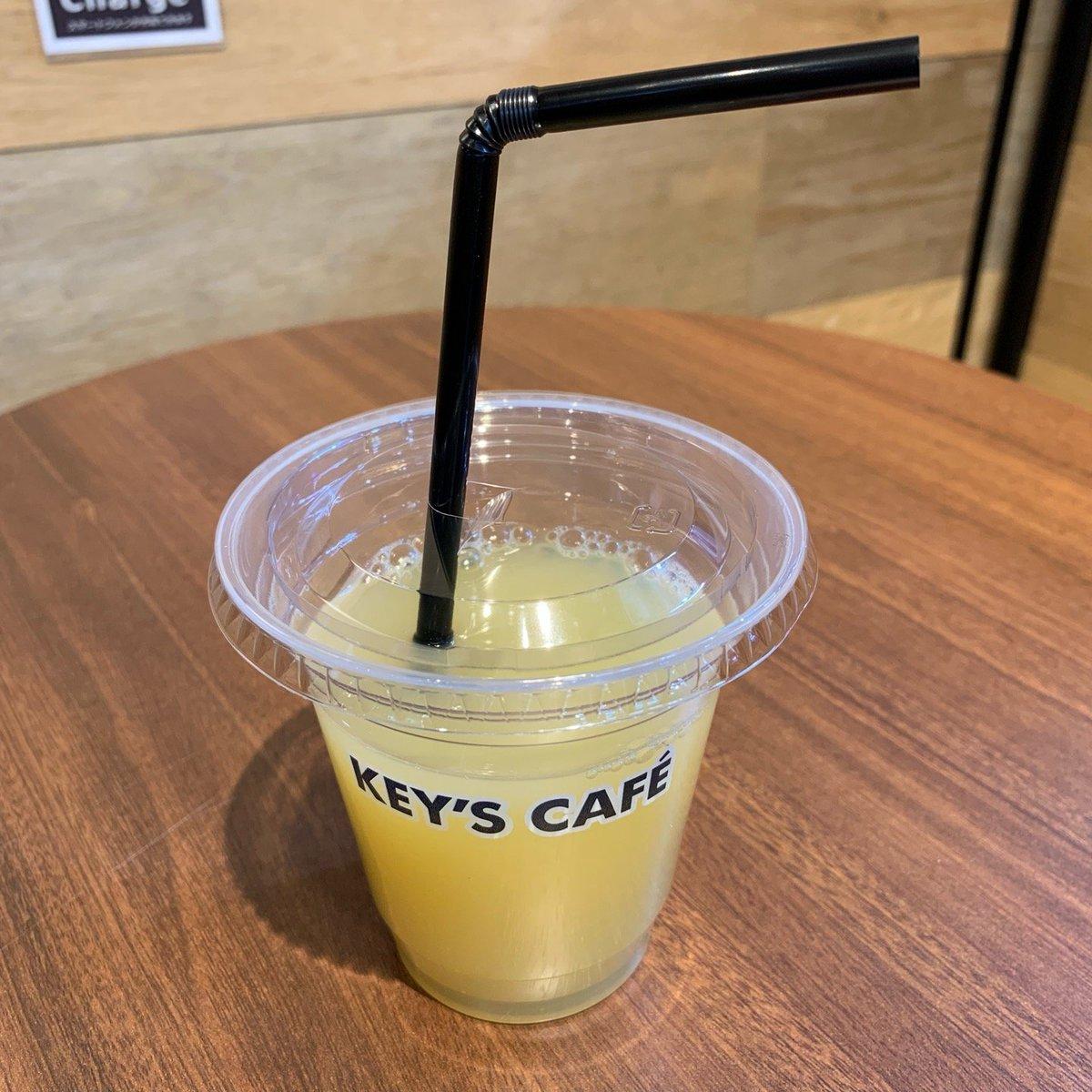 KEY'S CAFE(キーズカフェ)ビックカメラ名古屋JRゲートタワー店 りんごジュース