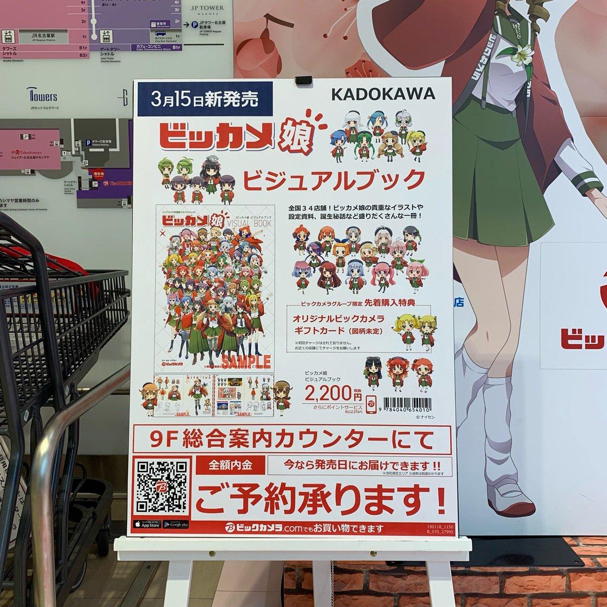 ビックカメラ 名古屋JRゲートタワー店(ビジュアルブック)