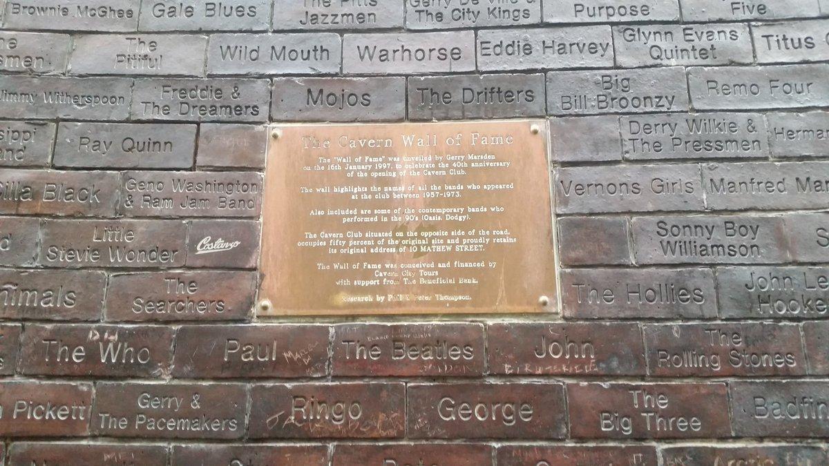 Streets of #Liverpool ! #CavernClub #CavernPub #Beatles @cavernliverpool @thebeatles @VisitLiverpool