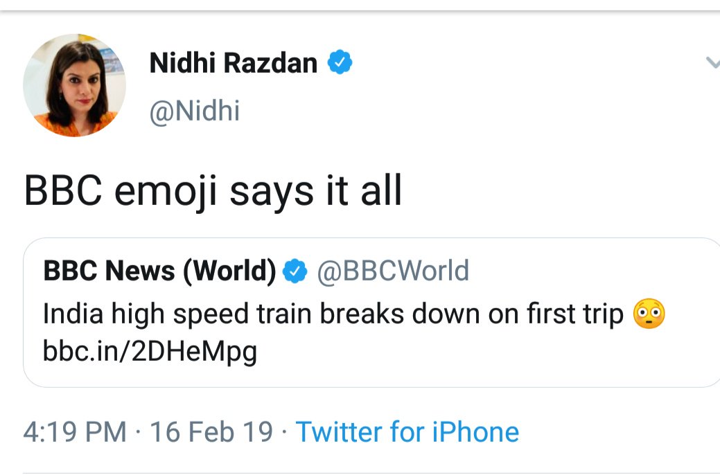 Normally, I don&#39;t argue on SM What response should have been there for tweet by BBC world Opt- BBC forgets Antares &amp; Soyuz rocket blasts Opt2- Oppose the fake news /clarify the reality  What NDTV does is makes fun of own country  Hating Modi doesn&#39;t mean start hating ur country <br>http://pic.twitter.com/H6A4af43qS