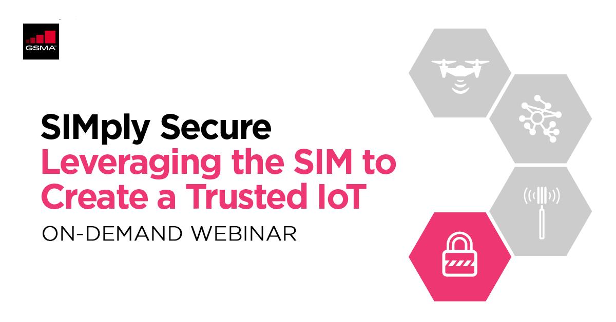 ICYMI: In this webinar, listen to the #GSMA & @SIMalliance discuss the latest developments in #IoT #security and the capabilities of #SIM in enhancing connected devices:  https://t.co/eIci6VW5QN