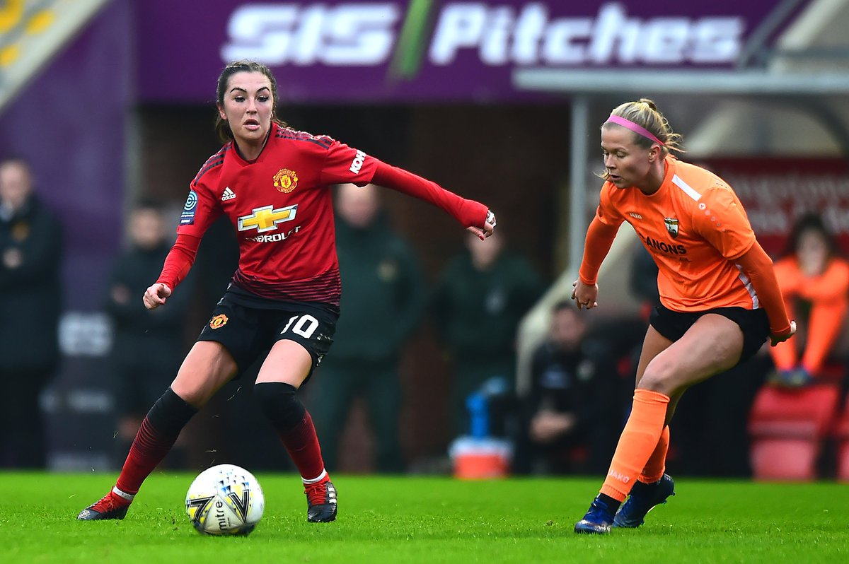 It's #SSEWomensFACup matchday for #MUWomen as we face London Bees at 14:00 GMT! Score predictions?