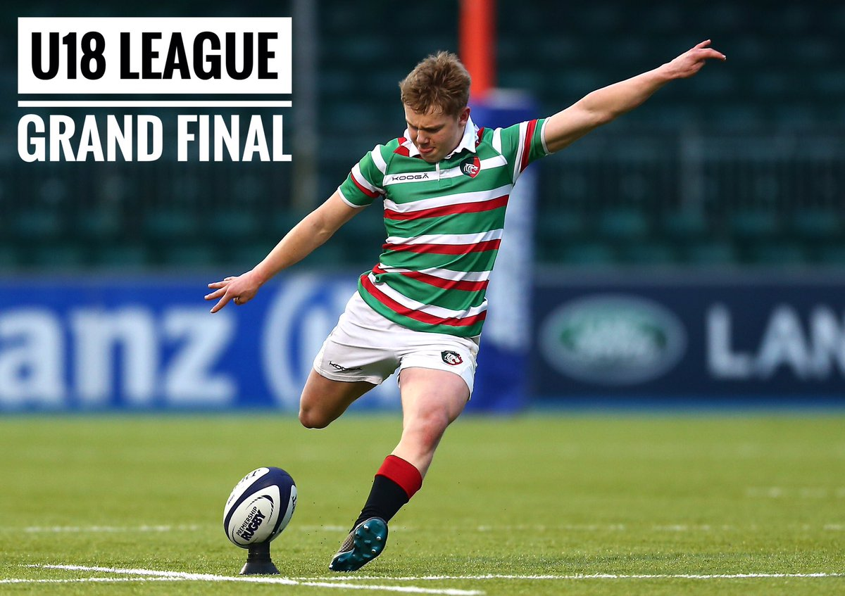 It's GAME DAY for our Academy lads  ... who take on Gloucester for a second successive season in the U18 League Grand Final 🏆