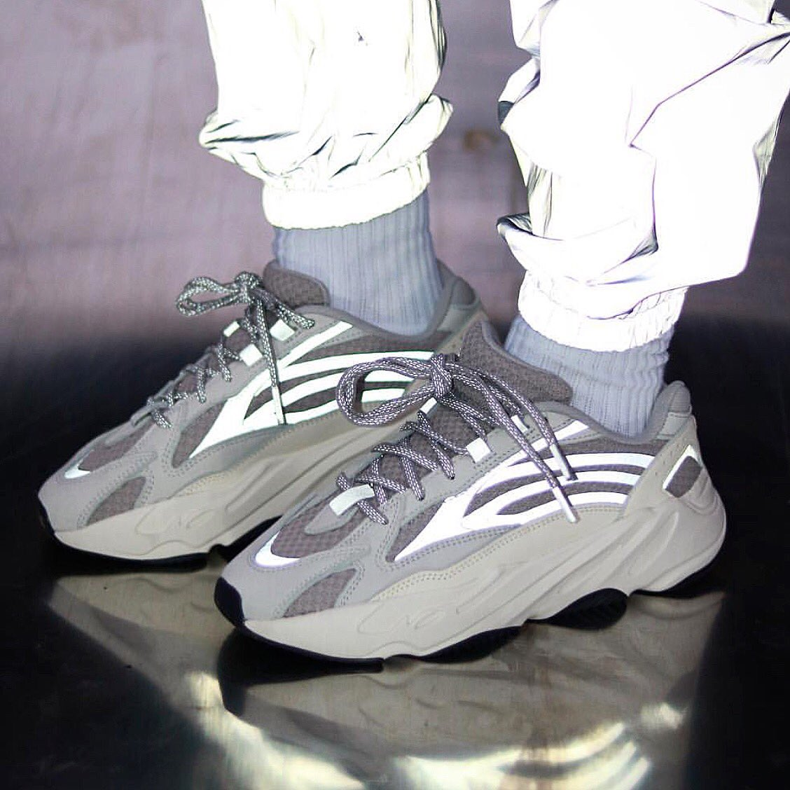 promo code 90829 fe33a PrwThitapa YEEZY BOOST 700 V2 STATIC WAVE RUNNER SIZE ( UK ...