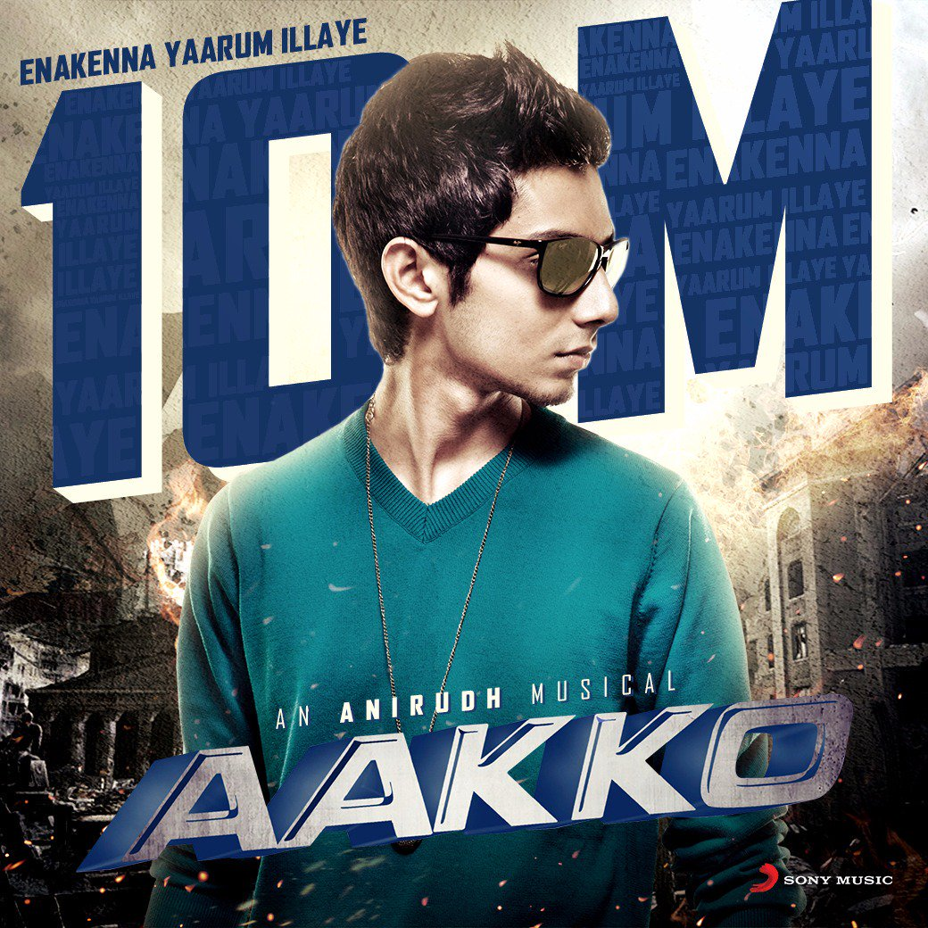 Kathiru endru nee soli ponaal adhuvey podhum❤️..maranthiru endru nee soli ponaal uyire pogum 💔  Rockstar @anirudhofficial 's favourite song of his composition #EnakkennaYaarumIllaiye hits 10million views 😍  This song is indeed very close to heart for many.  @VigneshShivN 🎵🎉