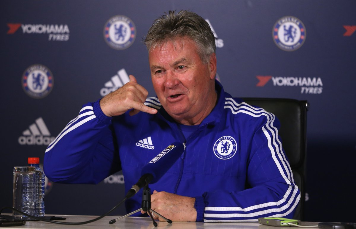 Image result for Guus Hiddink and Avram Grant