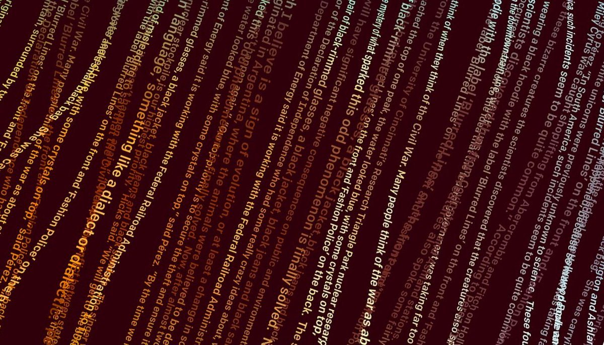 14 февраля некоммерческая лаборатория OpenAI объявила о создании нейросети GPT-2, которая настолько успешно генерирует осмысленные тексты, что их полную публикацию сочли опасной. Подробнее: https://t.co/Qn7Tvufen7
