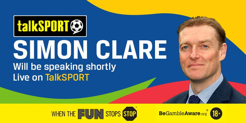 📻  Tune into @talkSPORT shortly where our man @SiClare will be giving you the latest betting news!
