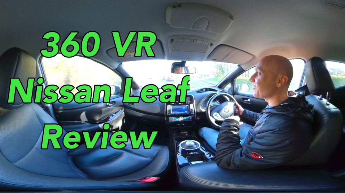 New tech time! @insta360 one X. Here's the result straight out of the box. https://youtu.be/GbyZq8DhjVk  #360ActionCamera #vr @NissanEV_UK #nissanleaf @NissanElectric