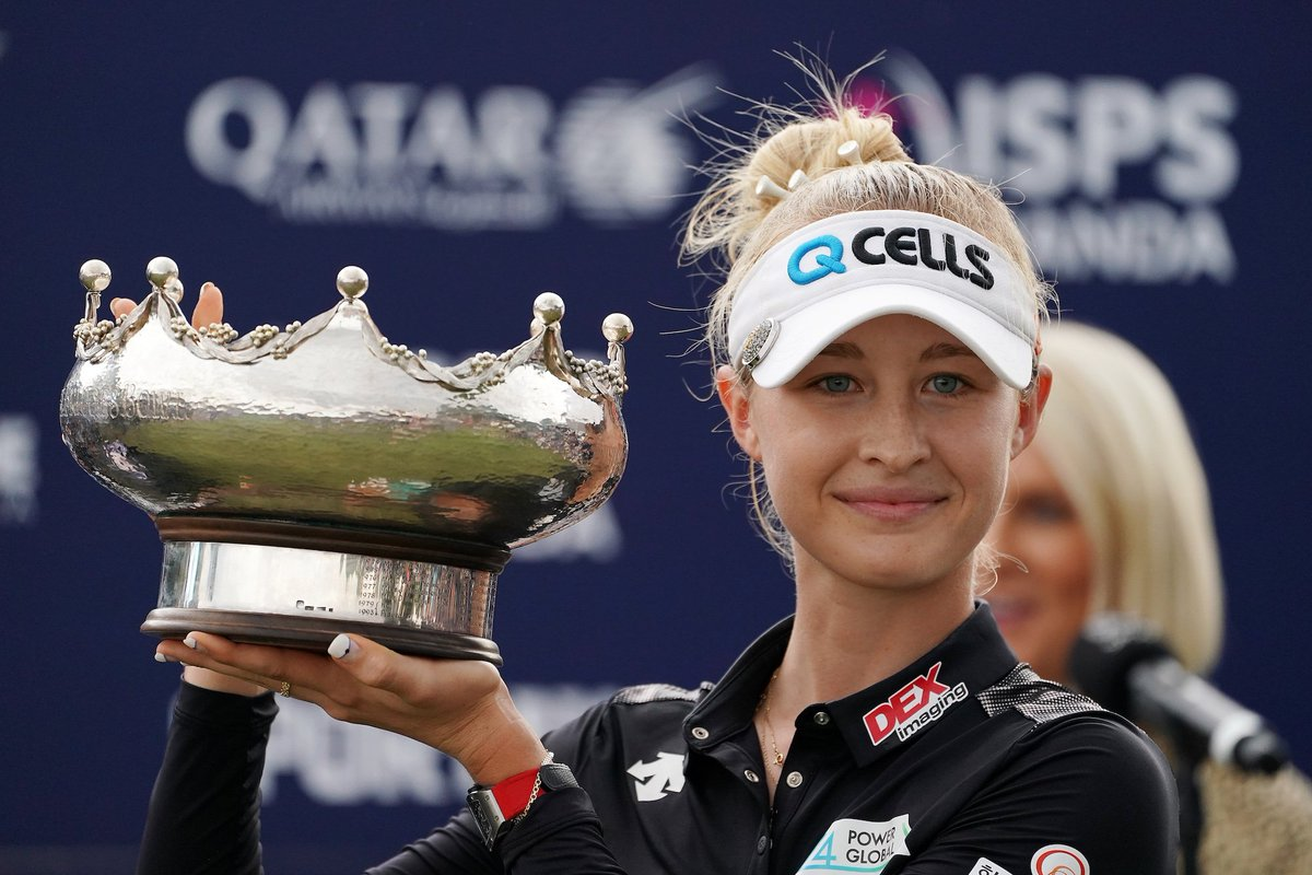 Although @NellyKorda already has her #TumiBagsPacked to the 2020 @diamondresorts Tournament of Champions with her win in 2018, she has now extended her stay through the 2021 event with her win @WomenAusOpen!   #diamondlpga