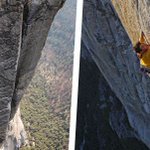 Image for the Tweet beginning: Alex Honnold scales mountain cliffs