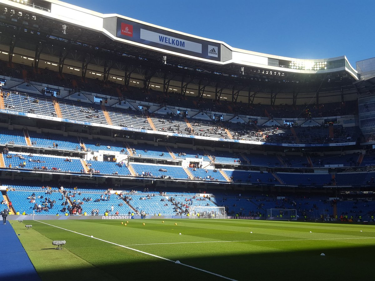 Join us live Madridistas at 1120CET from the Bernabeu. On Facebook and RMTV. Vamos!