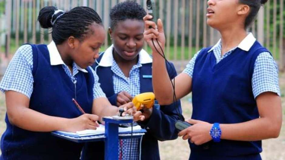 south african ebony girls