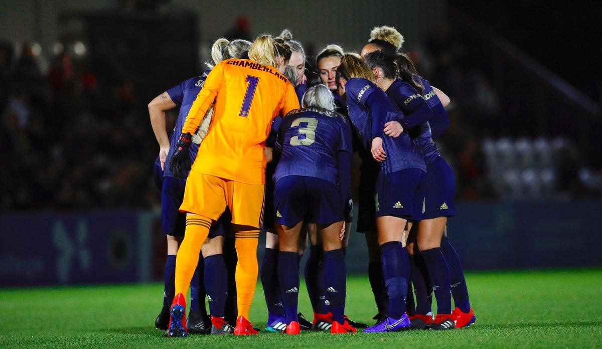 It's FA Cup time!   🆚 @LondonBees 🏆 @SSEWomensFACup 🏟 Hyde FC, Ewen Fields ⏰ 2.00pm 🎟 £5 / £2.50 📺 LIVE on MUTV   📱 Follow @ManUtdWomen   #MUWomen