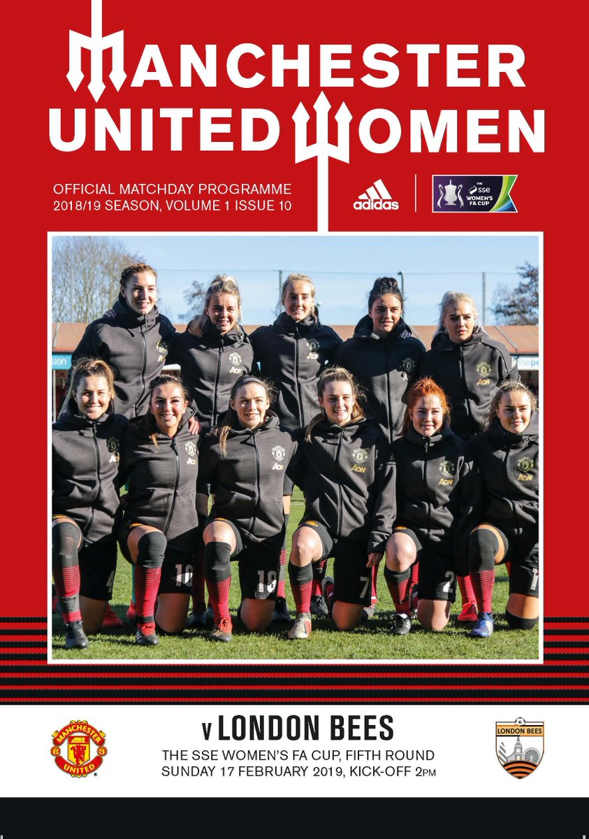 Today's official #MUWomen programme features an exclusive interview with @Leah_Galton21!  For that and much, much more, grab your free copy from the ground. 😊