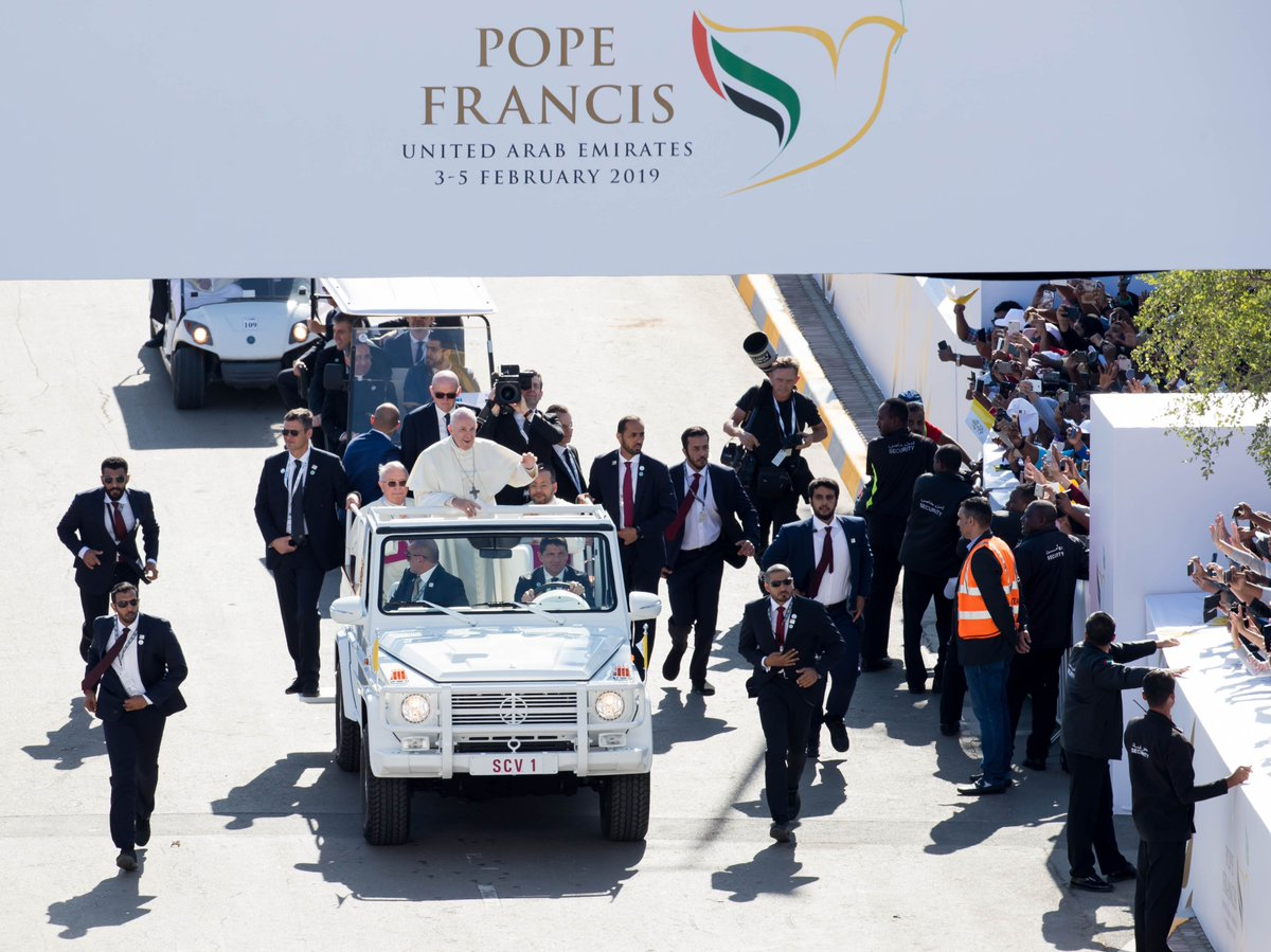 Pope Francis Holy Mass – Sheik Zayed Sport City Stadium, Feb. 05, 2019  HQWS is proud to have been entrusted to support in the organization of this historical event in the UAE. HQWS: beyond imagination! #shows #events #imagination #holiness #yearoftolerance #popefrancisinuae <br>http://pic.twitter.com/2EpU1nl69P