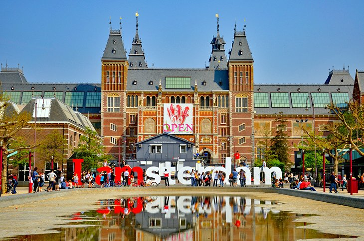 One of #Amsterdam's most popular #attractions - and certainly its most important art repository - the #Rijksmuseum was founded in 1809 to house the country's huge collection of rare #art and antiquities. - http://SAVEATRAIN.COM