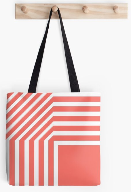 #New #design time again. This bold #pattern in Pantone Living Coral (2019) is available now via @redbubble  http://ow.ly/JYCQ30nmbfq  #GraphicDesign #coloroftheyear #SaturdayMorning #SaturdayMotivation #SaturdayThoughts #FelizSábado #SundayBrunch
