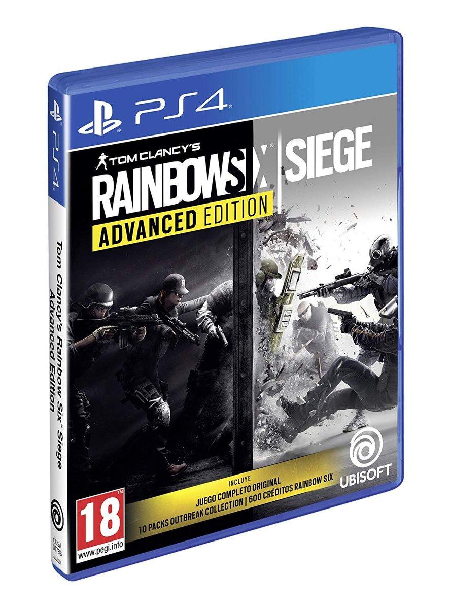 Rainbow Six Siege - Advanced Edition para #PS4 por sólo 14.9€ https://www.yambalu.com/es/juego/8797/rainbow-six-siege-advanced-edition-playstation-4.html…