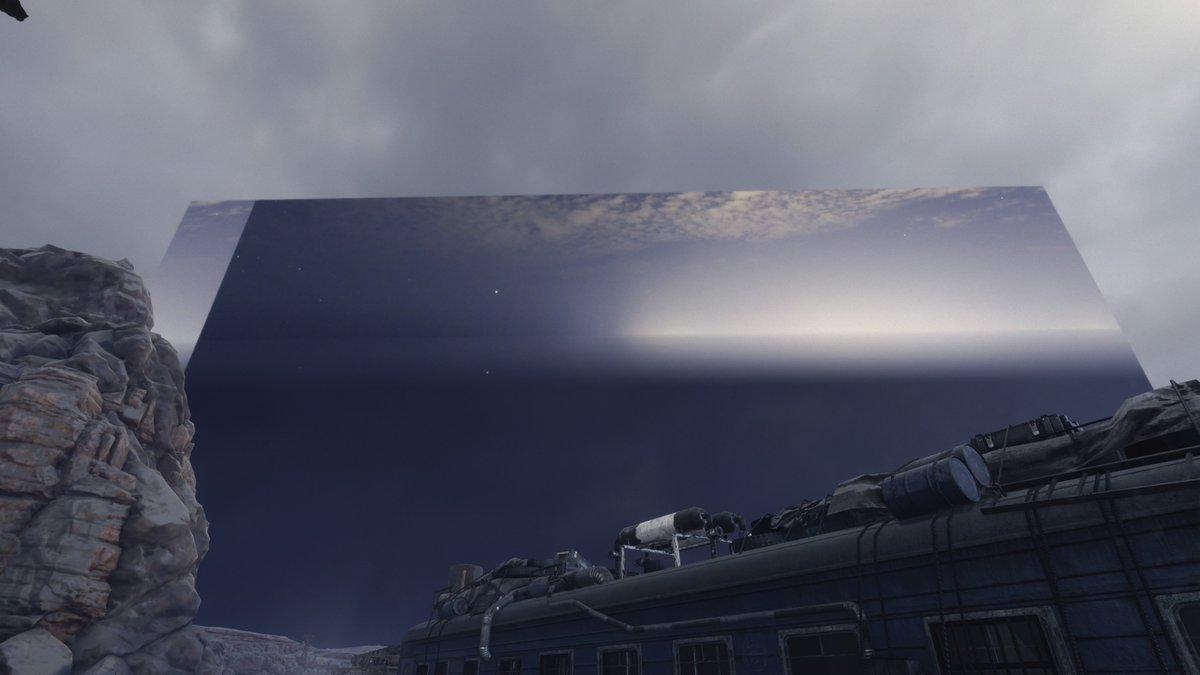 Nicht die Erde ist eine Scheibe, sondern der Himmel! ☝️🤓 #MetroExodus #PS4 #Funny ❤️🕹️❤️