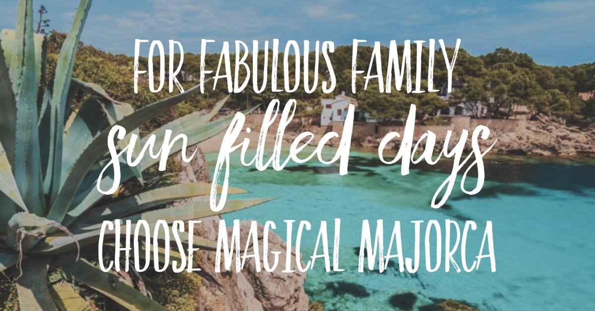 As Feb gives us unseasonal  sunshine, are you thinking of your #familyhols ?I specialise in family holidays to Majorca &amp; Mallorca - guaranteed sun, warm seas &amp; fun for you &amp; your little ones. No obligation, no fee, just great service &amp; your family vacay flights &amp; hotel booked! <br>http://pic.twitter.com/21hvCHQOLl