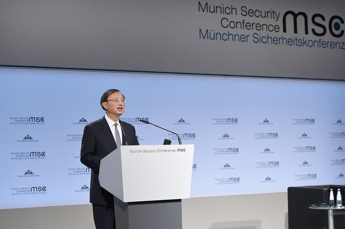 In a world full of uncertainties and contradictions, China showed itself to be a staunch supporter of global cooperation and multilateralism, and its efforts to maintain the world order have been endorsed at the #MunichSecurityConference. http://bit.ly/2DMcaGQ