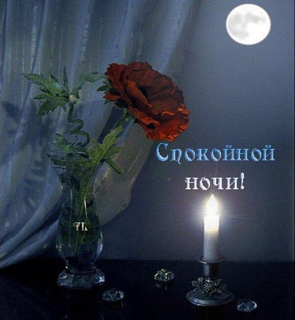 Открытки спокойной всем ночи