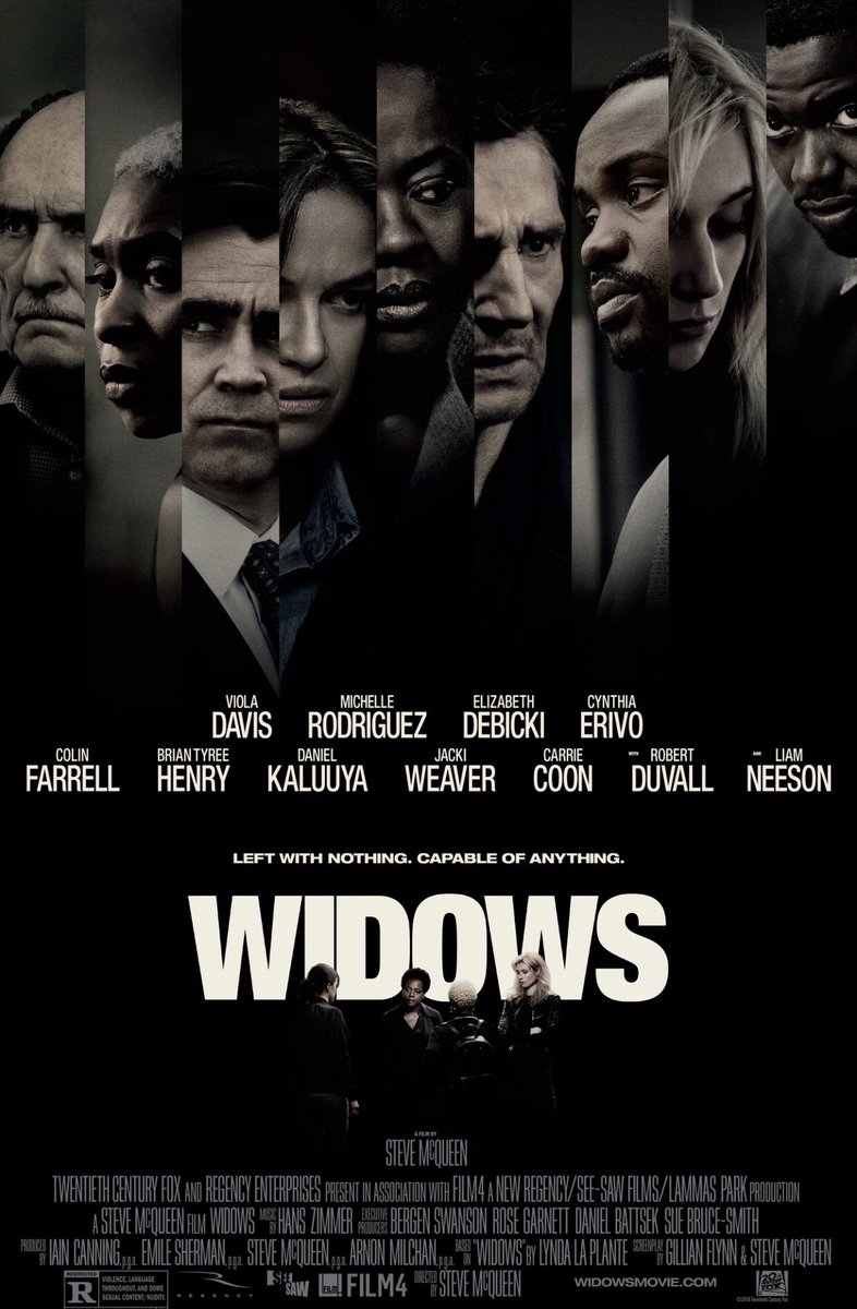 WIDOWS. After the gruesome death of their gangster husbands, the widows decide to group together and pull one major heist and change their inevitable fate.  Nominated for a Bafta, the well acted movie is gripping and intense enough to keep you interested to the end  #RekomenFilem<br>http://pic.twitter.com/cpBG3wr3VL