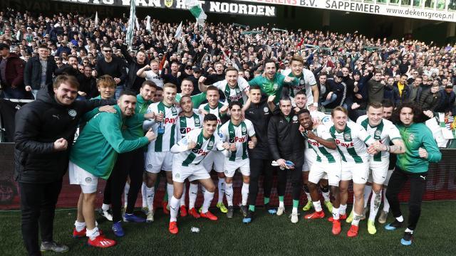 #fcgroningen verslaat #feyenoord met 1-0 door een eigen doelpunt van Sven van Beek #grofey @rtvnoord @RTVNoordSport