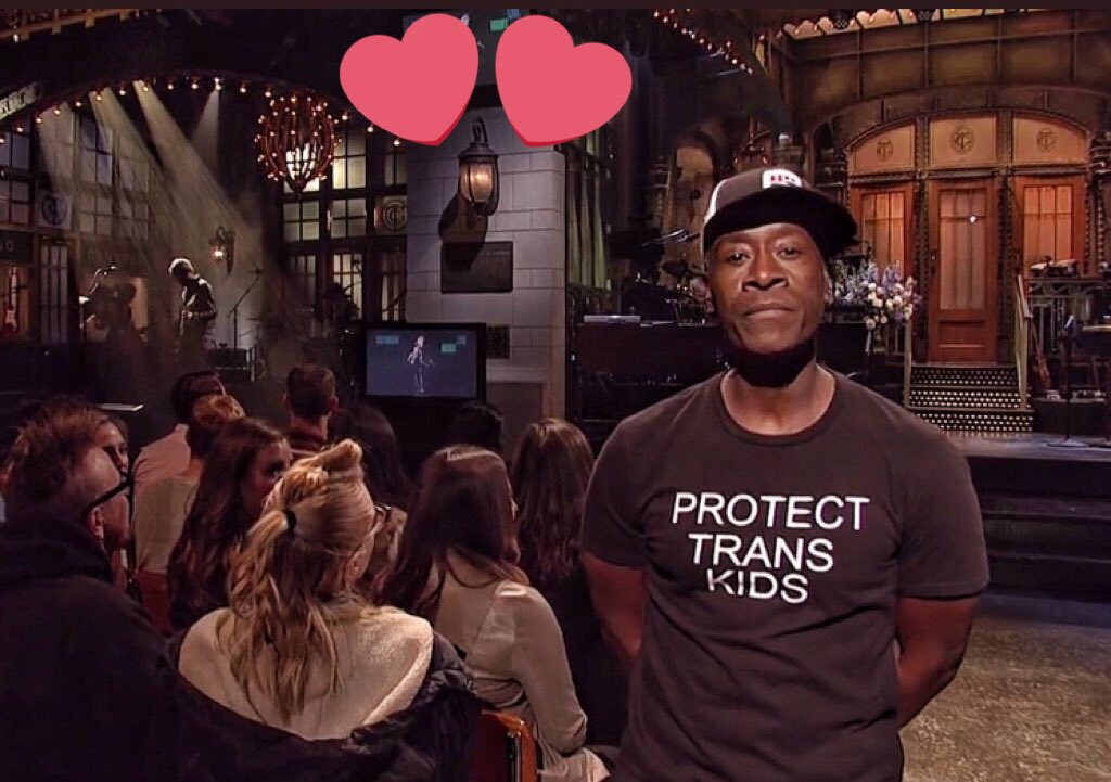 Don Cheadle Spread a Powerful and Necessary Message on SNL, Simply by Wearing This T-Shirt