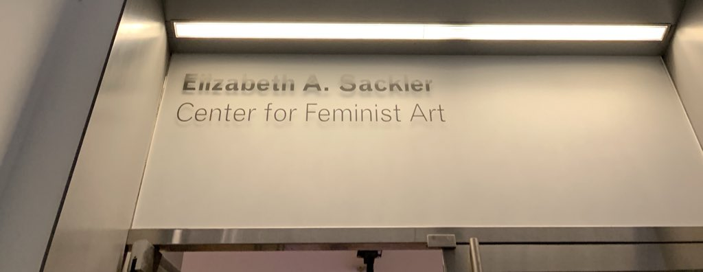 Free opioids with your feminist art?