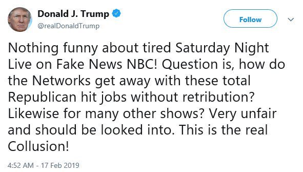 Omg. Now SNL is the National Emergency?