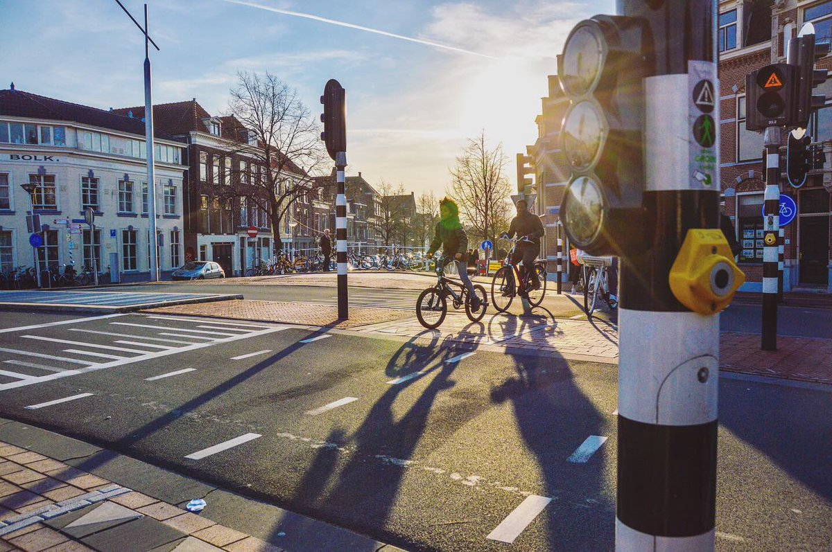 Картинки по запросу safety bike lane delft