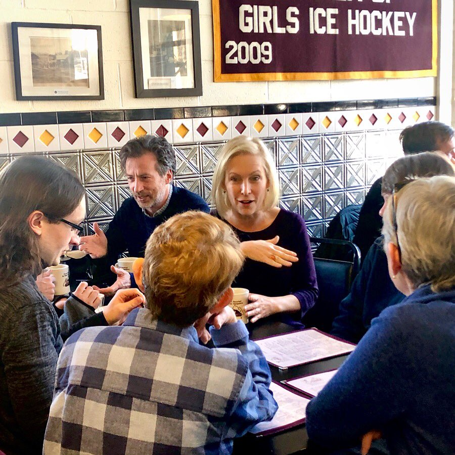 An important part of my campaign is meeting voters in as many diners as I possibly can. Delicious morning in Lebanon, NH!