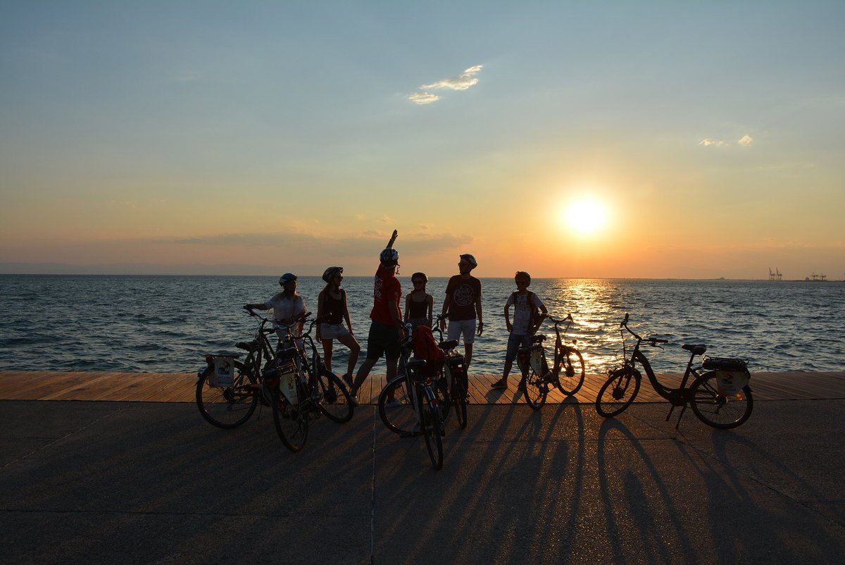 3f216c65db Would like to share our latest of activity! A  sunset biking tour in   Thessaloniki! The experience was absolutely amazing and rejuvenating!