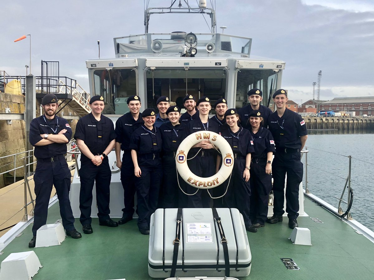 Great to have @BirminghamURNU embarked for their New Entry Weekend. Great effort from all and good to see the fantastic development during their first weekend on board; we look forward to welcoming everyone back for Easter Deployment! #URNU #BehindTheWall #TrainingFutureLeaders