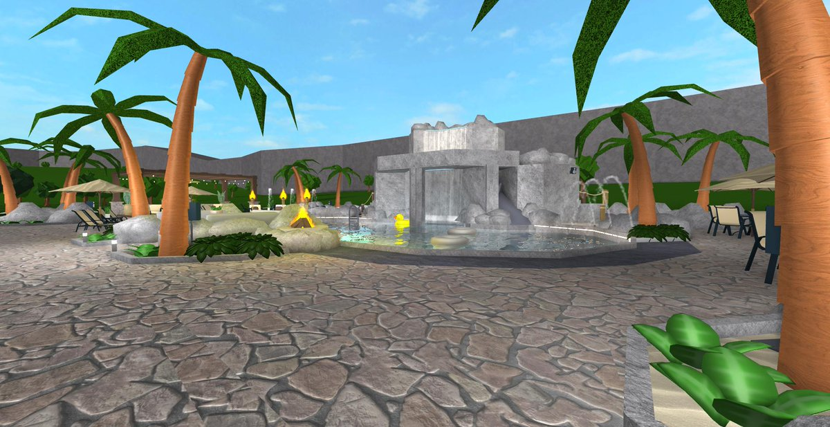 How To Build A Pool In Bloxburg Roblox Froggyhopz On Twitter I Wanted To Focus On A Particular Area Of